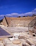 Roman theatre, Kourion, Cyprus. Stock Photo