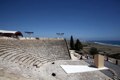 Roman theatre of Kourion Royalty Free Stock Images