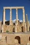 Roman theatre, Libya Royalty Free Stock Photos