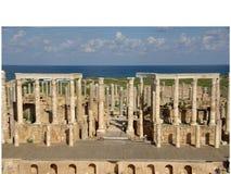 Roman theatre, Libya Stock Image