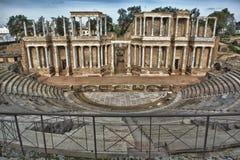 Roman Theatre, Merida, Spain Stock Photo