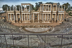 Roman Theatre, Merida, Spain Stock Photo