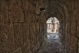 Passage Or Vomitorium Of The Theatre Royalty Free Stock Photo