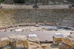 Roman Theatre Malaga Arkivfoton
