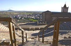 Roman theatre of Medellin, Spain Stock Photography