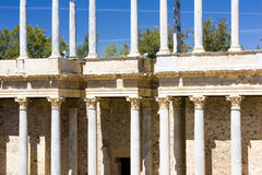 Roman Theatre of Merida Royalty Free Stock Photography