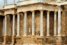 Roman Theatre at Merida. Spain Royalty Free Stock Photo