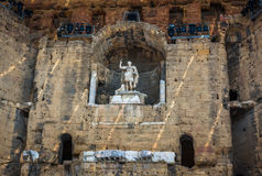 Roman Theatre of Orange (France) Royalty Free Stock Photo