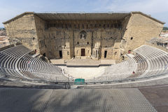Roman theatre in Orange, South France Royalty Free Stock Photo
