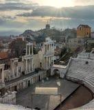 The Roman Theatre in Plovdiv, Bulgaria Royalty Free Stock Photos
