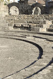 Roman theatre ruins of Aosta Royalty Free Stock Images