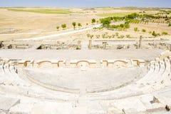 Roman Theatre of Segobriga Royalty Free Stock Images