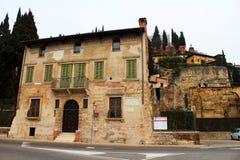 Roman Theatre in Verona, Italy Royalty Free Stock Photography