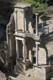 The Roman Theatre in Volterra Stock Photos
