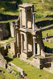 Roman Theatre of Volterra, Italy Royalty Free Stock Images