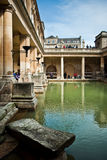 Roman thermal baths Stock Image