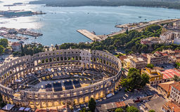 Arena Pula Royalty Free Stock Photography