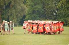 Roman Tortoise Tactic Stock Photos