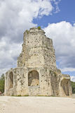 Roman tower in Nimes Royalty Free Stock Photography