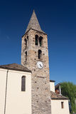Roman tower in Pre Saint Didier, Stock Photo