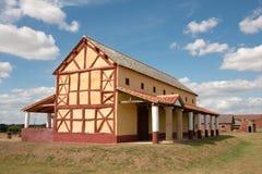 roman town för england hus Royaltyfria Bilder