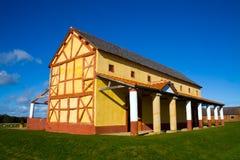 Roman Town House royaltyfri foto