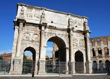 Roman Triumph Arch Royalty Free Stock Photos