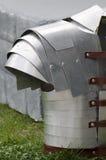 Roman tunic replica. Roman tunic armor replica on display in a public park Royalty Free Stock Photos