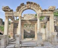 Roman villa in Ephesus stock fotografie