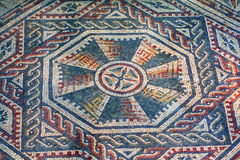 Roman villa mosaic - Sicily Royalty Free Stock Photos