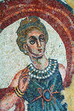 Roman villa mosaic - Sicily. Spectacular mosaics of the Casale Roman Villa in the Piazza Armerina - Sicily stock photos