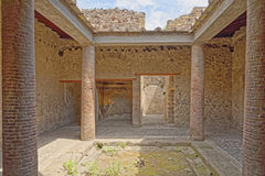 Roman villa, Pompeii Stock Photography