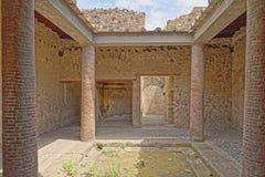 Roman villa, Pompeii Stock Photography