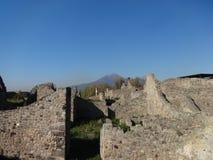 Roman Villa Ruins em Pompeii 22 fotos de stock royalty free