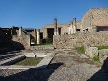 Roman Villa Ruins em Pompeii 21 foto de stock