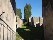Roman Villa Ruins em Pompeii 19 imagem de stock royalty free