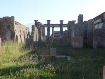 Roman Villa Ruins em Pompeii 17 foto de stock royalty free