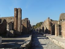 Roman Villa Ruins em Pompeii 16 imagens de stock
