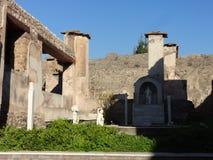 Roman Villa Ruins em Pompeii 15 imagem de stock royalty free