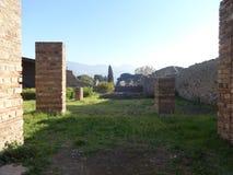 Roman Villa Ruins em Pompeii 14 imagens de stock