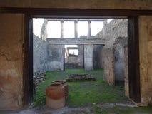 Roman Villa Ruins em Pompeii 13 fotos de stock royalty free