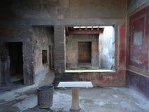 Roman Villa Ruins em Pompeii 8 imagem de stock royalty free