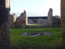 Roman Villa Ruins em Pompeii 7 foto de stock royalty free