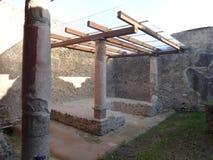 Roman Villa Ruins em Pompeii 5 imagem de stock