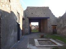 Roman Villa Ruins em Pompeii 4 imagens de stock