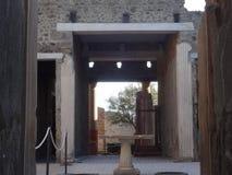 Roman Villa Ruins em Pompeii 3 imagem de stock