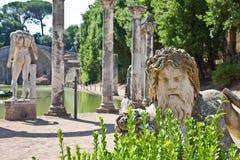 Roman villa - Tivoli Royalty Free Stock Photo