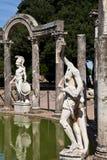 Roman villa - Tivoli Stock Image
