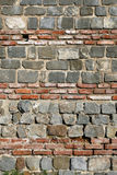 Roman wall Royalty Free Stock Photography