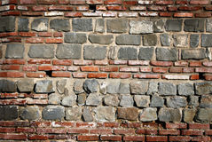 Roman wall background Stock Images